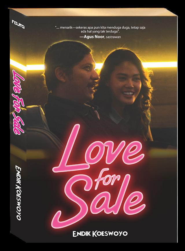 Novel Love For Sale by Endik Koeswoyo