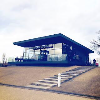世界一スタバ 富山 環水公園店