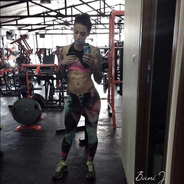 bani j workout picture