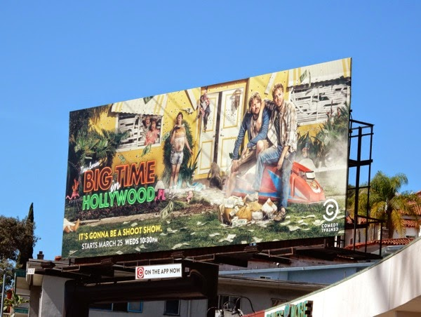 Big Time Hollywood Fl series premiere billboard
