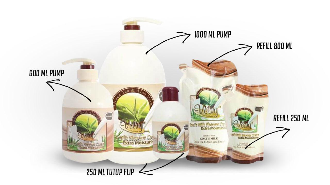 Ukuran Produk Sabun Susu Kambing