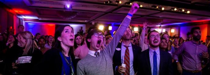الانتخابات الأمريكية ؛ فوز الديمقراطيين في مجلس النواب