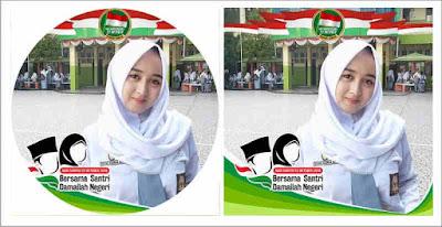 Dalam rangka memeriahkan peringatan Hari Santri Kumpulan Bingkai Foto Profil Hari Santri 2018