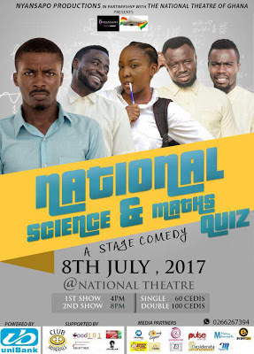 Foster Romanus, Clemento Suarez For National Science And Maths Quiz Comedy On July 8