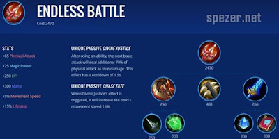 Endless Battle - Item Game Mobile Legends