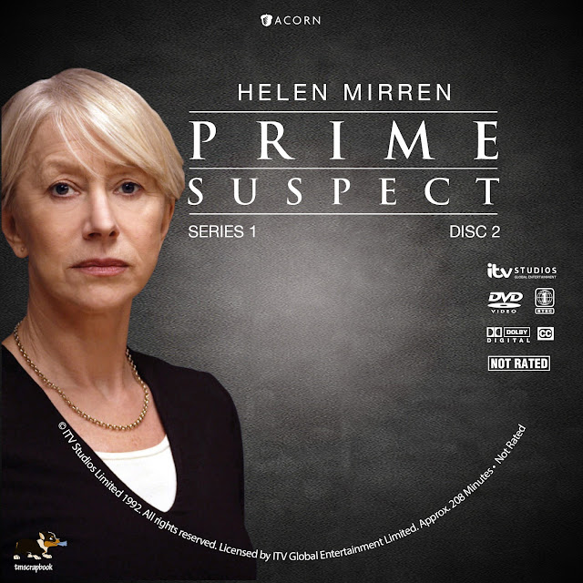 Prime Suspect Season 1 Disc 2 DVD Label