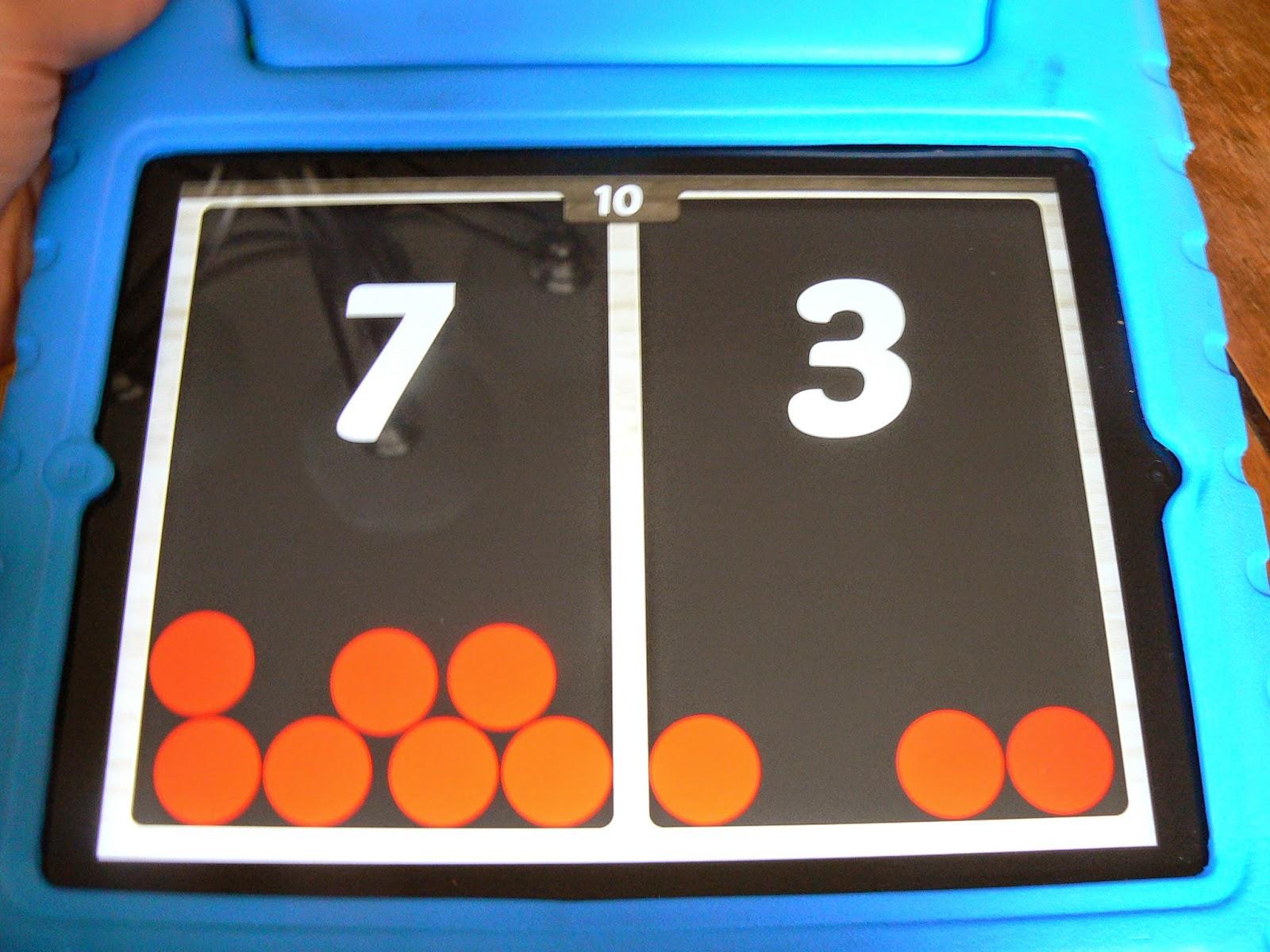 Mrs T S First Grade Class Split Box Ipad Math Center