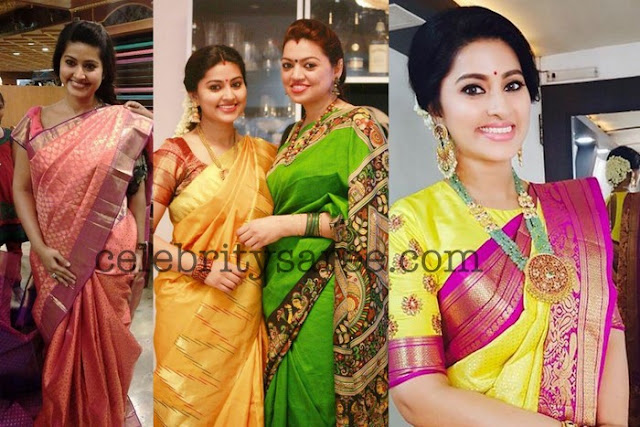 Sneha in Grand Kanchipattu Sarees