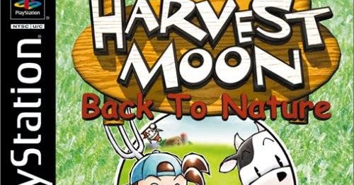 Harvest Moon Back To Nature Sony Playstation Emudieval