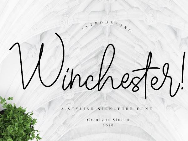 Winchester Signature Script Font Free Download