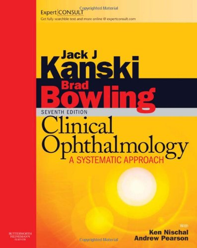 Medical Ebook  Kanski Clinical Ophthalmology  A Systematic