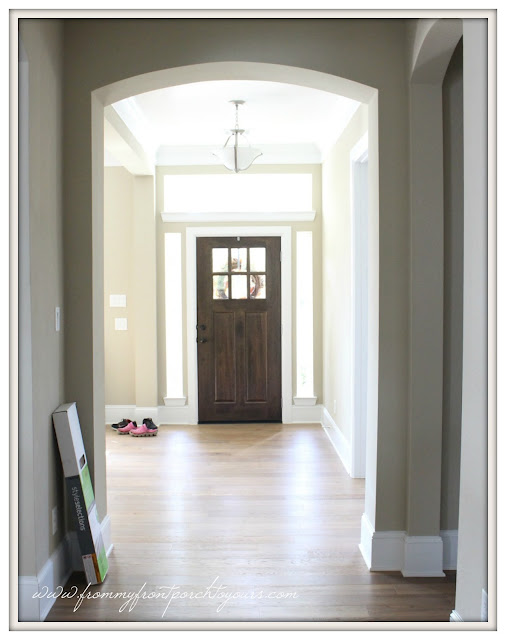 Farmhouse Foyer-New Build-Front Door-Craftsman-From My Front Porch To Yours
