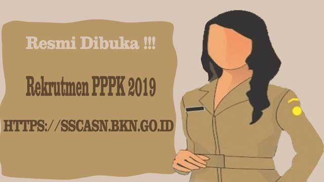 pendaftaran pppk resmi dibuka di sscasn.bkn.go.id