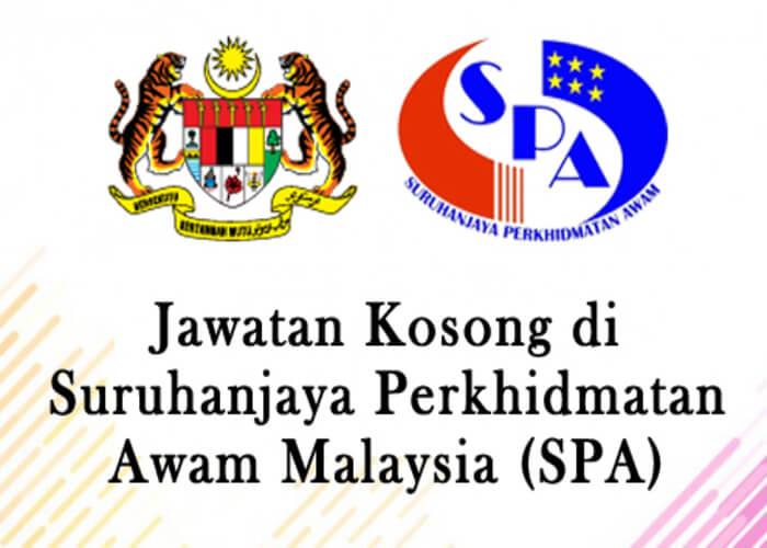 Iklan Jawatan Kosong Suruhanjaya Perkhidmatan Awam Malaysia (SPA) (3-10 Disember 2017)