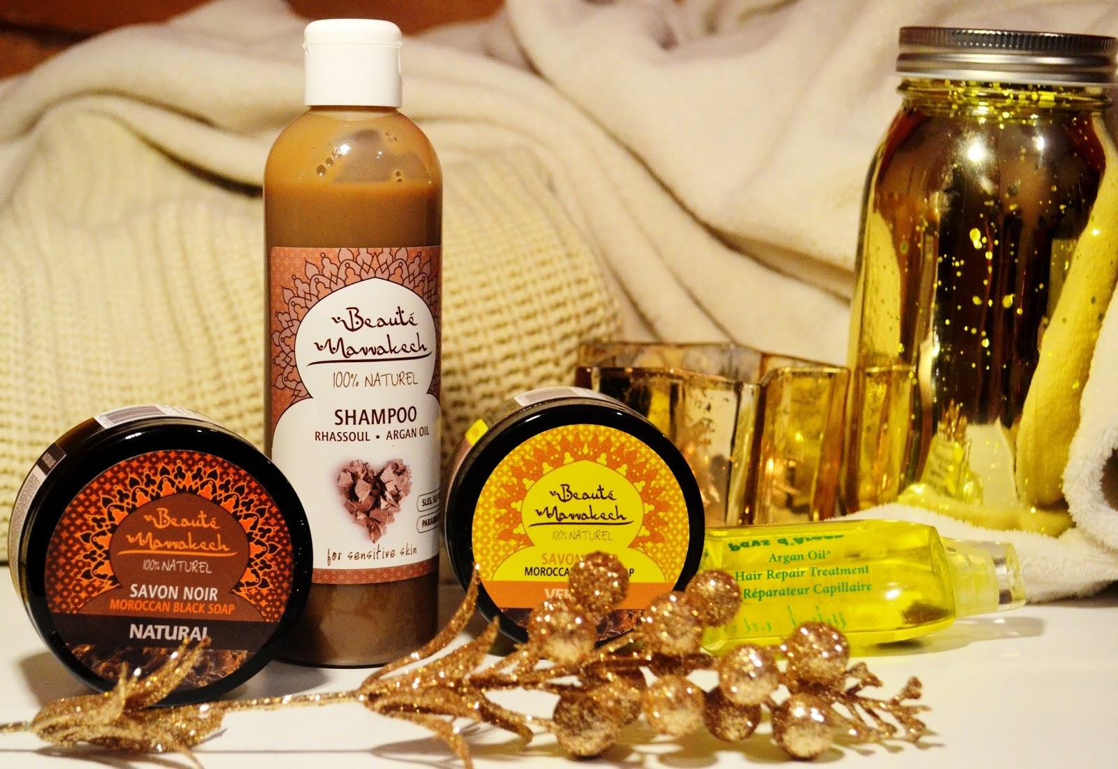 Pielęgnacja marokańskimi kosmetykami cz.2 - szampon oczyszczający, czarne mydło, olejek do włosów