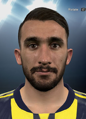 PES 2017 Mehmet Topal Face By DzGeNiO