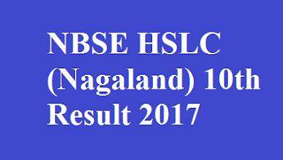Nagaland10th Result 2017