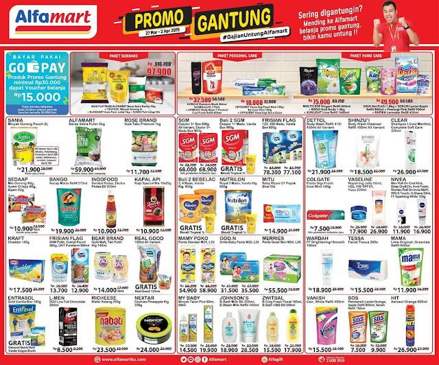 #Alfamart - #Promo #Katalog GANTUNG Periode 27 Maret - 02 April 2019