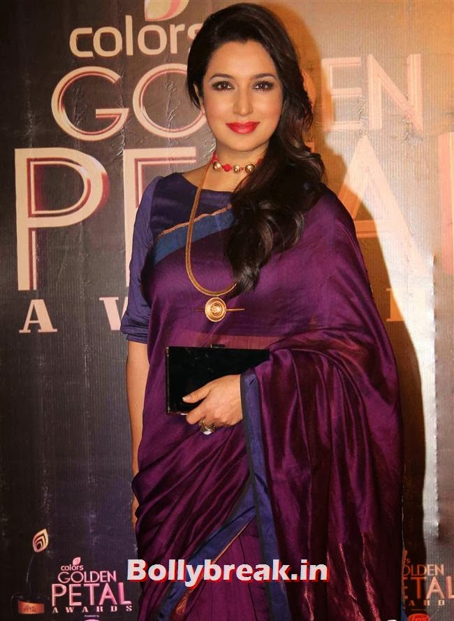 Tisca Chopra, Colors Tv 3rd Golden Petal Awards