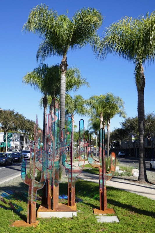 James Peterson Saguaro Cactus sculpture West Hollywood