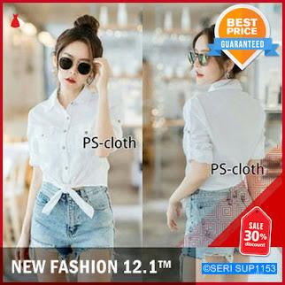 SUP1153K29 Kosoft White Baju Atasan Wanita 0117 BMGShop