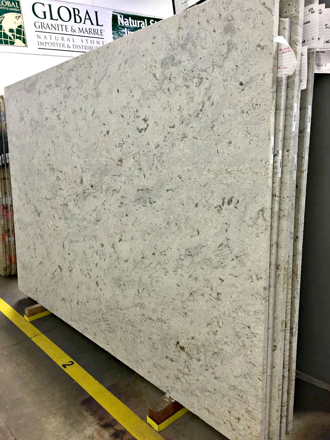 river white granite suede finish