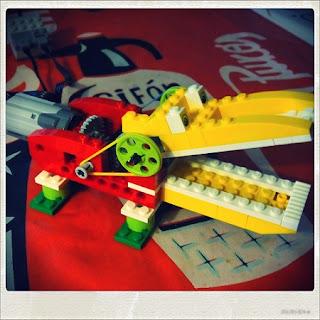 Robótica infantil usando Lego WeDo y Scratch