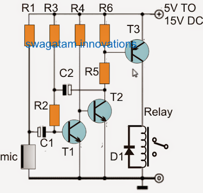 simple vibration sensor circuit