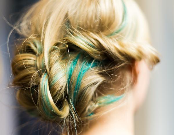 sotkunuttura nopea ja helppo kampaus pitkiin hiuksiin