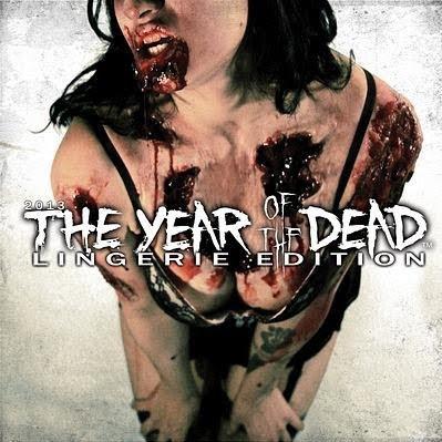 Year of the Dead Zombie Lingerie: Calendario Zombie 2013