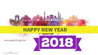 Happy New Year Wishes Greetings on Delhi