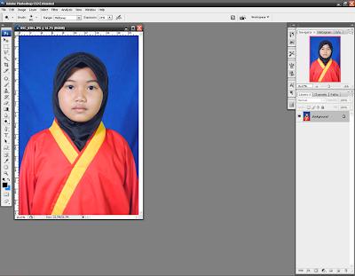 Membuat Ukuran Foto dengan Crop Tool pada Photoshop