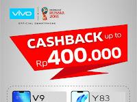 Menjelang kemerdekaan Indonesia ke -73, VIVO berikan cashback sampai 400 ribu