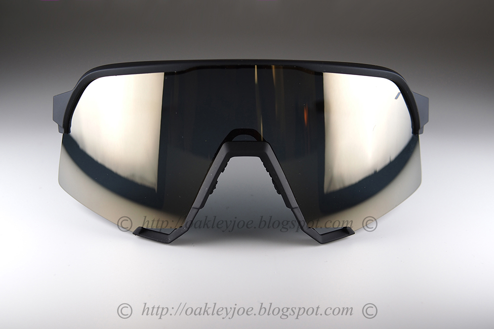100/% S3 Sunglasses Soft Tact Black Soft Gold