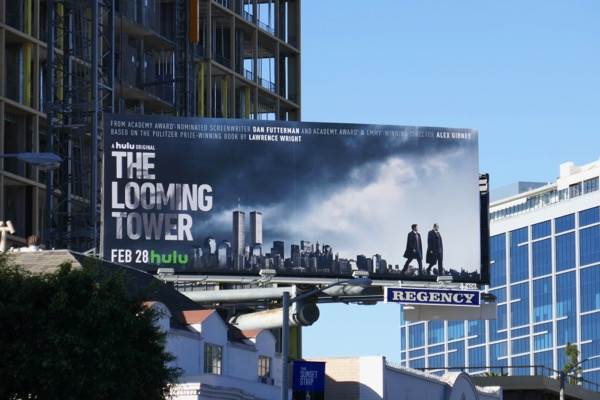 Looming Tower Hulu series billboard