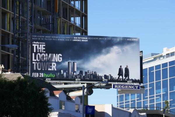 Looming Tower Hulu series billboard