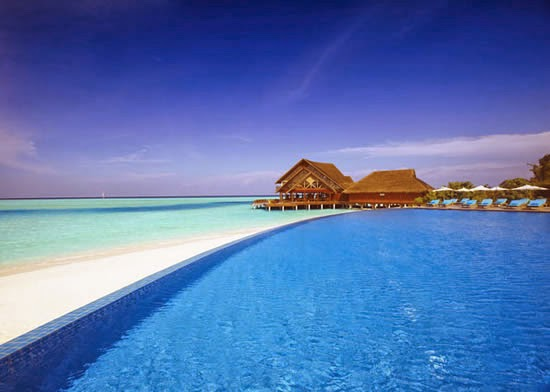 Anantara Dhigu Resort, Maldives Infinity Pool