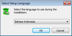 Pilih bahasa smadav