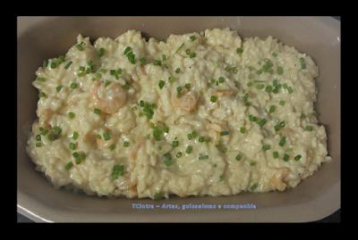 arroz; almoço e jantar; receita com frutos do mar; camarão; prato único
