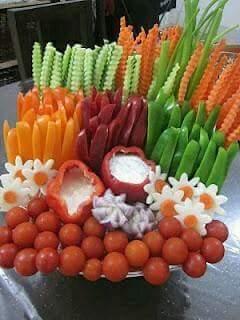 Sergio coelho receitas id ias f ceis para decora o de - Decoration legumes pour buffet ...