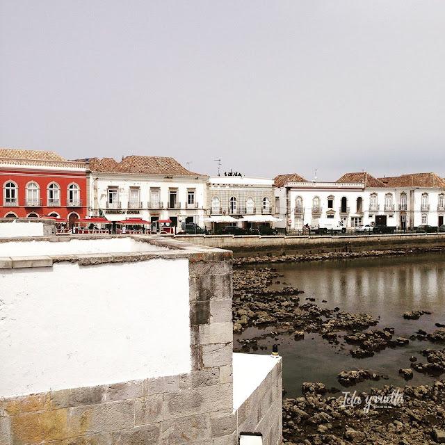 Tavira vista desde el puente.