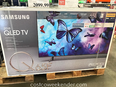 Costco 9650065 - Samsung QN65Q65F 65in 4K UHD QLED LCD TV: great for your living room