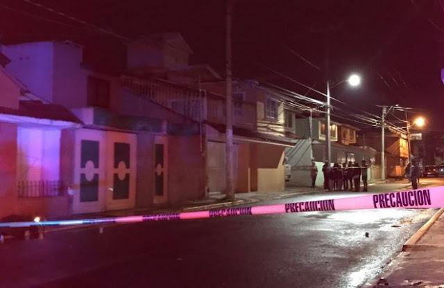 Ciudad de Toluca en la noche