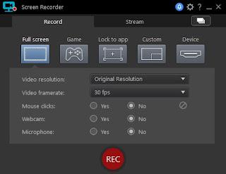 تنزيل برنامج تسجيل شاشة الكمبيوتر CyberLink Screen Recorder