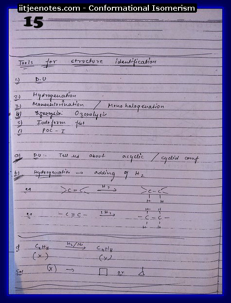Conformational Isomerism Notes5