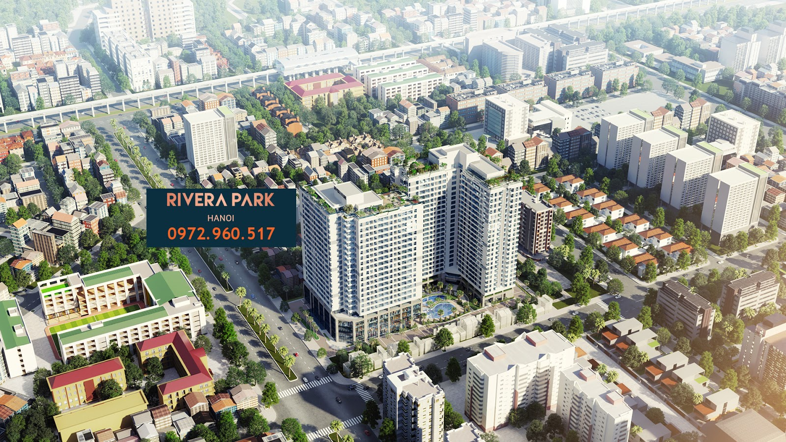 Hình ảnh dự án chung cư Rivera Park Hà Nội 69 Vũ Trọng Phụng năm 2018