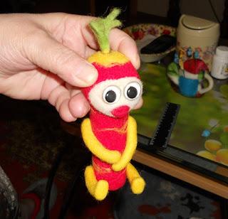 игрушка, ошибки валяния
