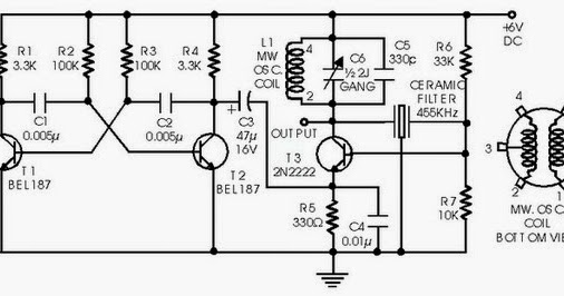 Circuit Diagram Simple IF Signal Generator using