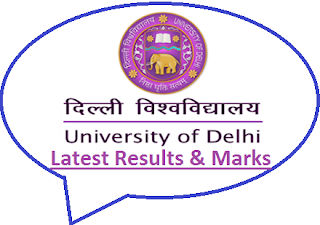 Delhi University Results Dec 2018