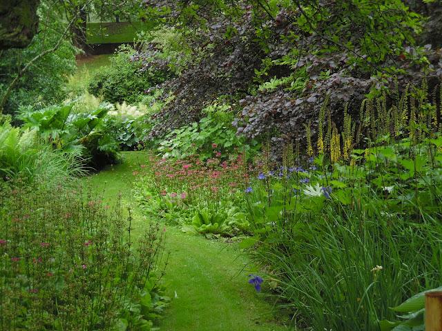 ogród naturalistyczny, ogród angielski